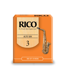 Beginner Saxophone Reeds Rico Royal Orange Box