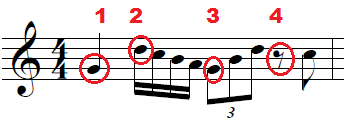 Developing time and foot tapping
